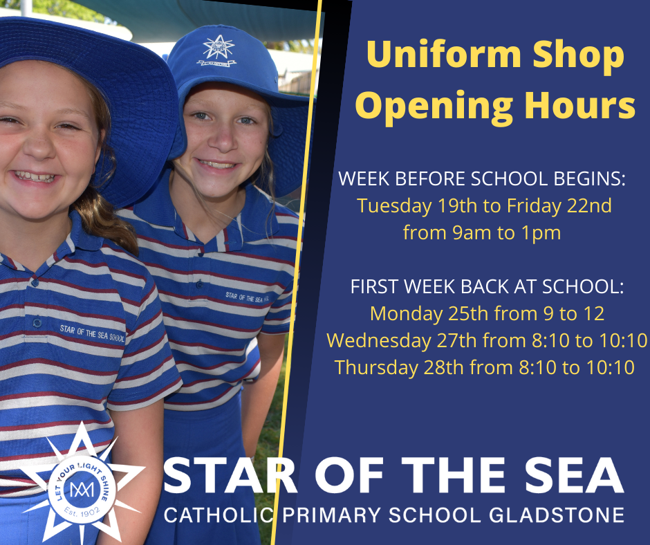 Uniform Shop opening times
